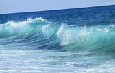 Small blue sea wave. Landscape — Stock Photo