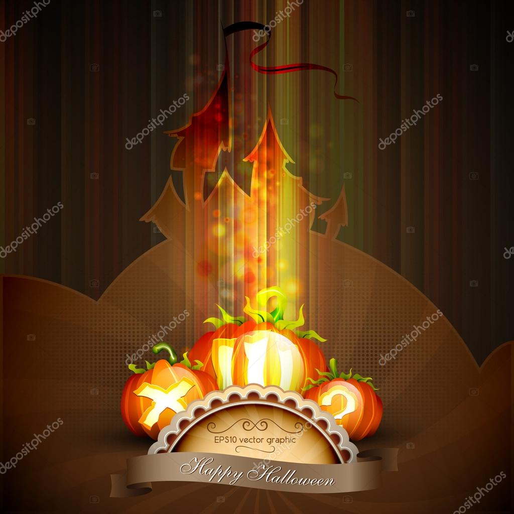 Halloween Poster | EPS10 Graphic | Separate Layers Named Accordingly — Stock Vector #13772801