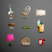Set of detailed vector Icons — Stock Vector