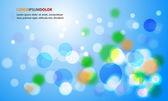 Flickering Lights Background — Stock Vector