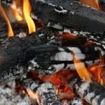 Fire ash — Stock Photo