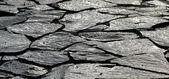 Broken concrete sidewalk — Stock Photo