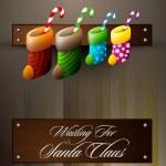 Waiting For Santa Claus - Christmas Family Concept — Stock Vector #31314429