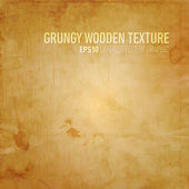 Grungy Wooden Texture — Stock Vector