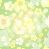 Seamless tile-able spring background — Stock Vector