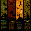 cartel de Halloween — Vector de stock