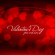 Valentine's Day Greeting Card  — Stockvectorbeeld