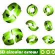 Circular Arrows — Stock Vector