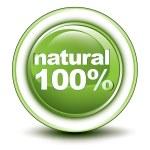 Environmental web push button icon — Stock Vector