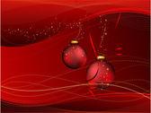 Głęboki czerwony bożonarodzeniowe — Wektor stockowy