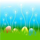 Easter vector illustration — Stock Vector