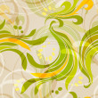Abstract floral pattern — Stockvectorbeeld