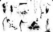 Set Of Original Vector Ink Drops — Stock Vector