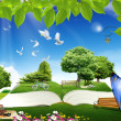 Nature Dream Place — Stock Photo #13962072