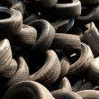 Piles of tires — Stock Photo