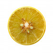 Abstract background citrus lime slices — Stock Photo #20544403