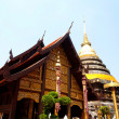 Pagoda Wat Phrathat Lampang Luang - Stock Photo