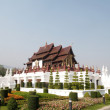 Royal Flora temple Chiang Mai,Thailand — Stock Photo
