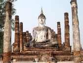 Sukhothai historical park, the old town of Thailand — Stock Photo