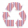 Recycling icons — Stock Photo #31481911