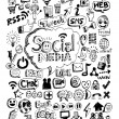 Doodle Icons Hand drawn vector illustration idea — Stock Vector #32108549