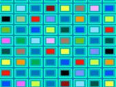Fondo abstracto con plazas — Vector de stock