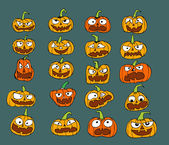 Happy Halloween theme and halloween background pumpkin ghost — Stock vektor