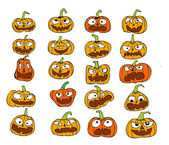 Happy Halloween theme and halloween background pumpkin ghost — Stock Vector