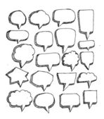 Speak bubbles — Vecteur
