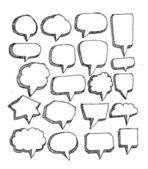 Tala bubblor — Stockvektor