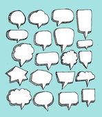 Speak bubbles — Stock Vector