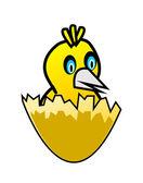Conjunto de pássaro bonito — Vetor de Stock