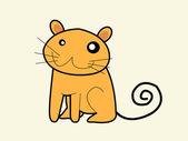 可爱猫一套 — 图库矢量图片