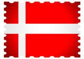 Denmark country flags — Stock Vector