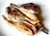 Dried fish fried — Stock Photo