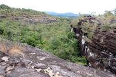 Pha Taem National Park landscape UbonRatchathani , Thailand — Stock Photo