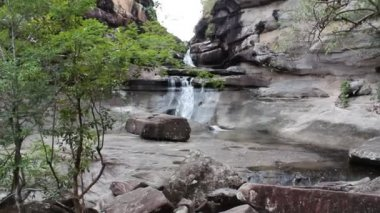 Waterfall at Ubonratchathani Thailand — Vídeo Stock