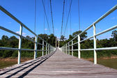 Suspended bridge thailand — Foto Stock