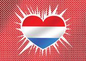 Netherlands Flag — Stock Vector