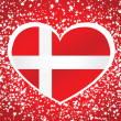 Denmark flag — Stock Vector #38139865