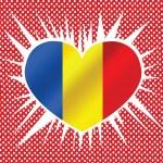National flag of Romania — Stock Vector #38299227