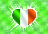 National flag of Ireland themes idea design — Stock Vector