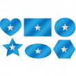 Somaliflag themes idedesign — Vector de stock #38940989