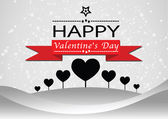 Happy valentines day cards idea design — Stockvector