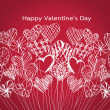 Happy valentines day cards idea design — Stock vektor #39503447