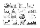 业务图表图标 — 图库矢量图片