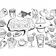 Food Icons Vector set — Stock Vector #40023659