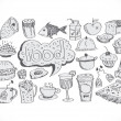 Stock Vector: Food Icons Vector set