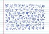 καρδιά και την ημέρα του αγίου βαλεντίνου κάρτα διάνυσμα φόντο — Διανυσματικό Αρχείο