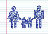 People Family icon Pictogram People — Wektor stockowy